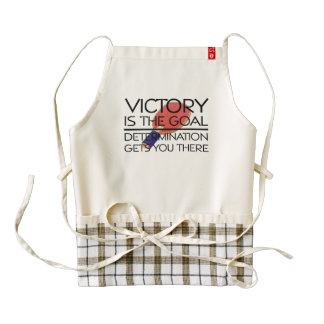TOP Ping Pong Victory Zazzle HEART Apron
