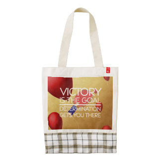 TOP Ping Pong Victory Zazzle HEART Tote Bag