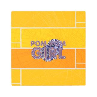 TOP Pom Pom Metal Print