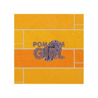 TOP Pom Pom Wood Wall Art