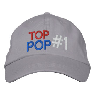 Top Pop #1 Embroidered Baseball Hat