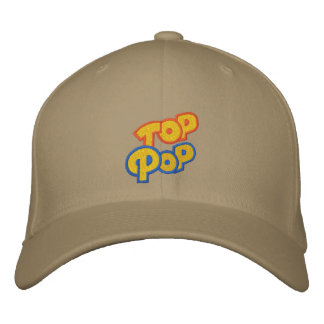 Top Pop Embroidered Baseball Cap
