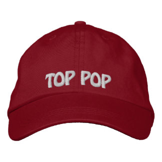 Top Pop Embroidered Hat