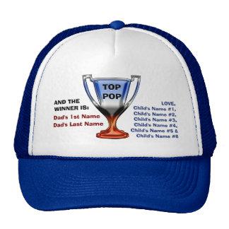 Top Pop Trophy Head Topper (Personalized) Trucker Hat