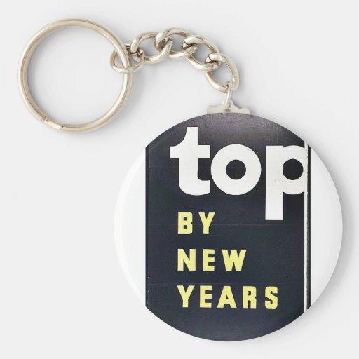 Top por Año Nuevo Llavero