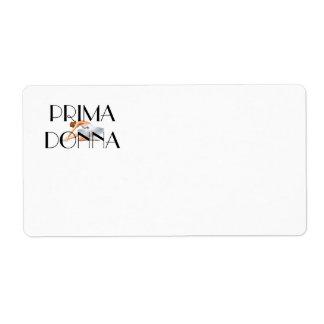 TOP Prima Donna Label