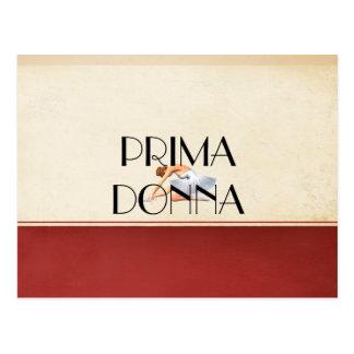 TOP Prima Donna Postcard