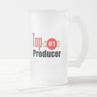 Top Producer Frosted Glass Beer Mug