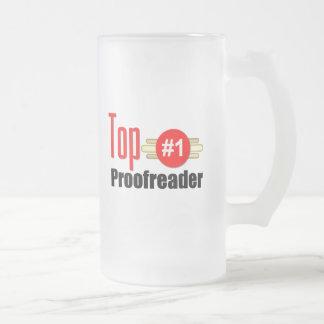 Top Proofreader Coffee Mug