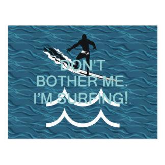 TOP que estoy practicando surf Tarjeta Postal