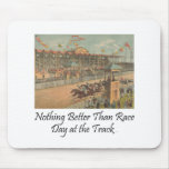 TOP Race Day at the Track Mouse Pad
