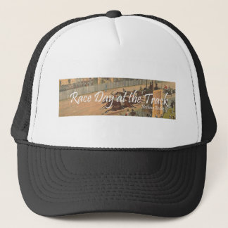 TOP Race Day at the Track Trucker Hat