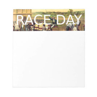 TOP Race Day Note Pads