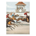 TOP Race to Victory 5x7 Paper Invitation Card