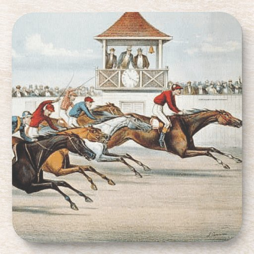 TOP Race to Victory Beverage Coaster