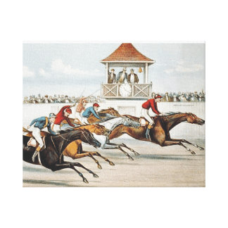 TOP Race to Victory Canvas Print