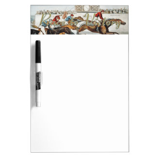 TOP Race to Victory Dry Erase Board