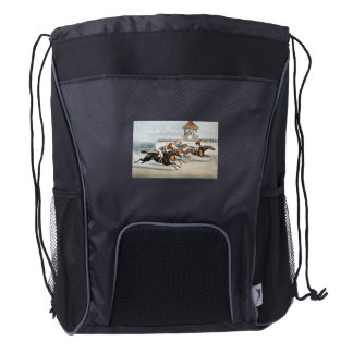 TOP Race to Victory Drawstring Backpack
