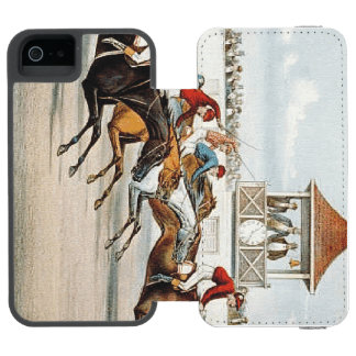 TOP Race to Victory iPhone SE/5/5s Wallet Case