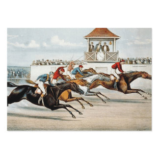 TOP Race to Victory Large Business Card