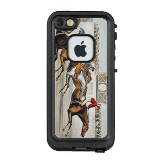 TOP Race to Victory LifeProof FRĒ iPhone SE/5/5s Case