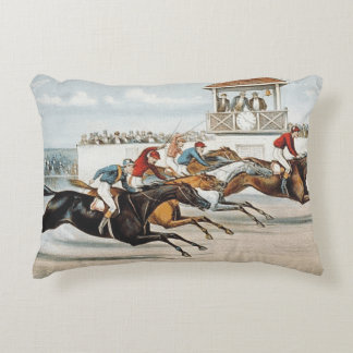 TOP Race to Victory Accent Pillow