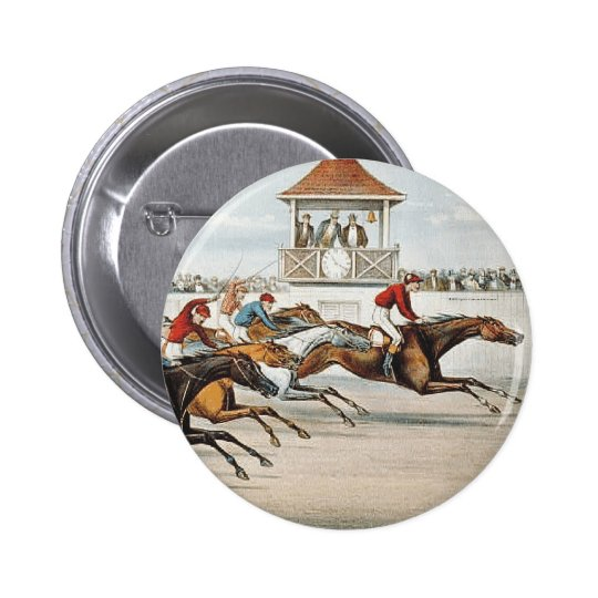 TOP Race to Victory Pinback Button