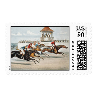 TOP Race to Victory Postage