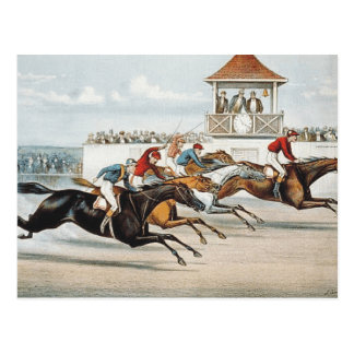 TOP Race to Victory Postcard