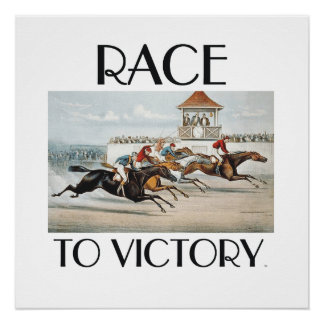TOP Race to Victory Poster