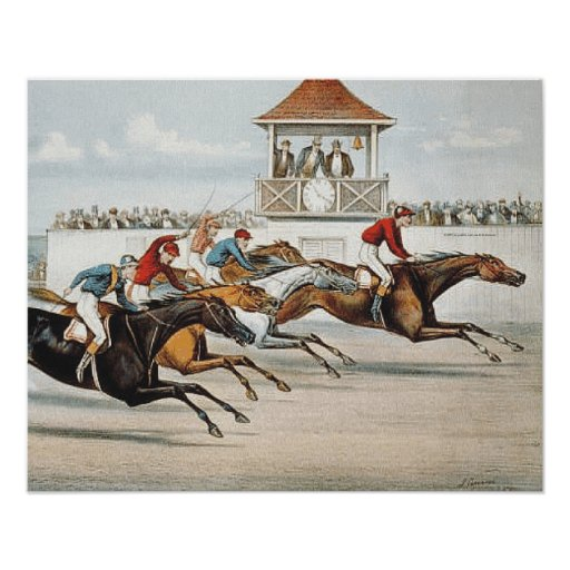 TOP Race to Victory Print
