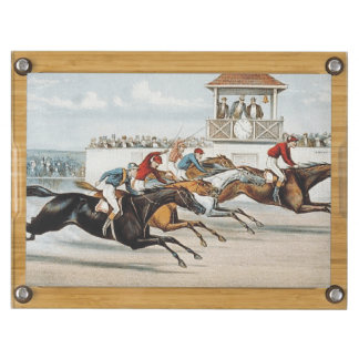 TOP Race to Victory Rectangular Cheeseboard