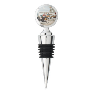TOP Race to Victory Wine Stopper