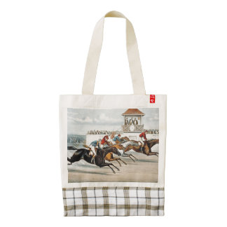 TOP Race to Victory Zazzle HEART Tote Bag