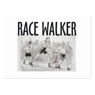 TOP Race Walker Large Business Card