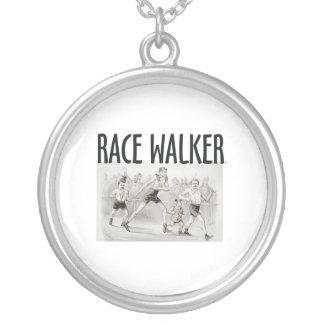 TOP Race Walker Personalized Necklace