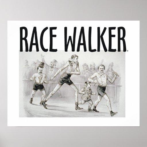TOP Race Walker Poster