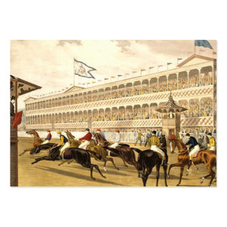 TOP Racetrack Large Business Card