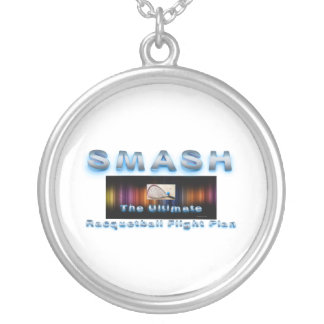 TOP Racquetball Slogan Silver Plated Necklace