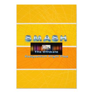 TOP Racquetball Smash 5x7 Paper Invitation Card