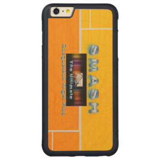 TOP Racquetball Smash Carved® Maple iPhone 6 Plus Bumper