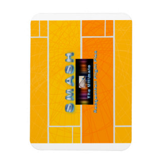 TOP Racquetball Smash Rectangular Photo Magnet