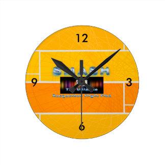 TOP Racquetball Smash Round Clock