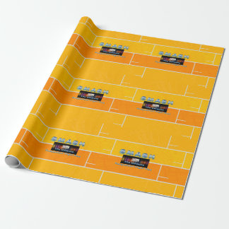 TOP Racquetball Smash Wrapping Paper