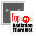 Top Radiation Therapist Pinback Button
