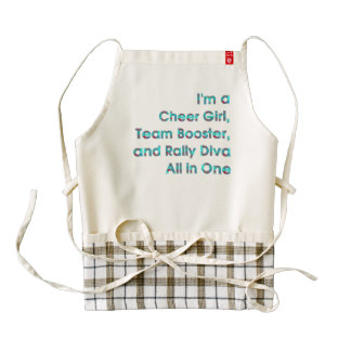 TOP Rally Diva Zazzle HEART Apron