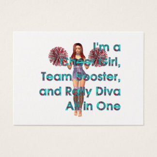 TOP Rally Girl Business Card