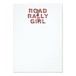 TOP Rally Girl Custom Invites