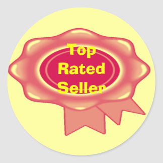 Top Rated Seller Sticker