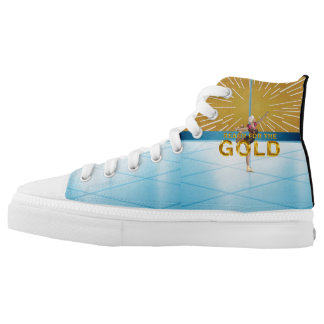 TOP Reach for the Gold High-Top Sneakers